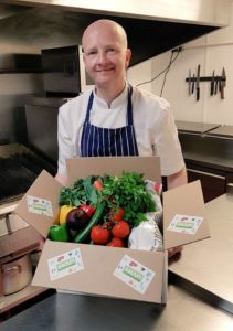 Award winning chef is SNAP-ped up by recipe box company