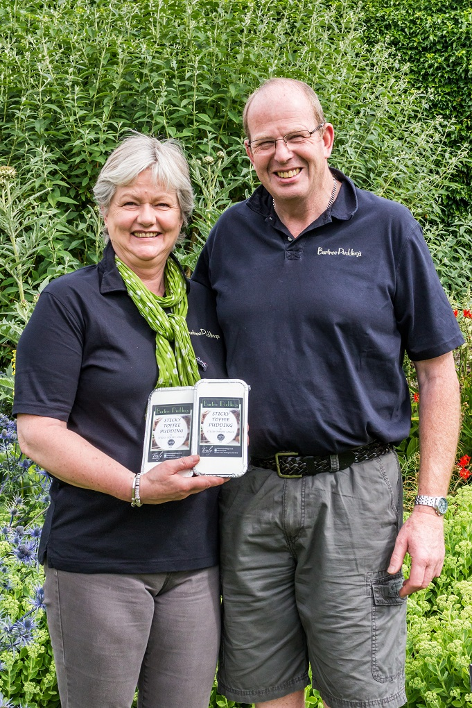 Luxury pudding firm shortlisted for national food award